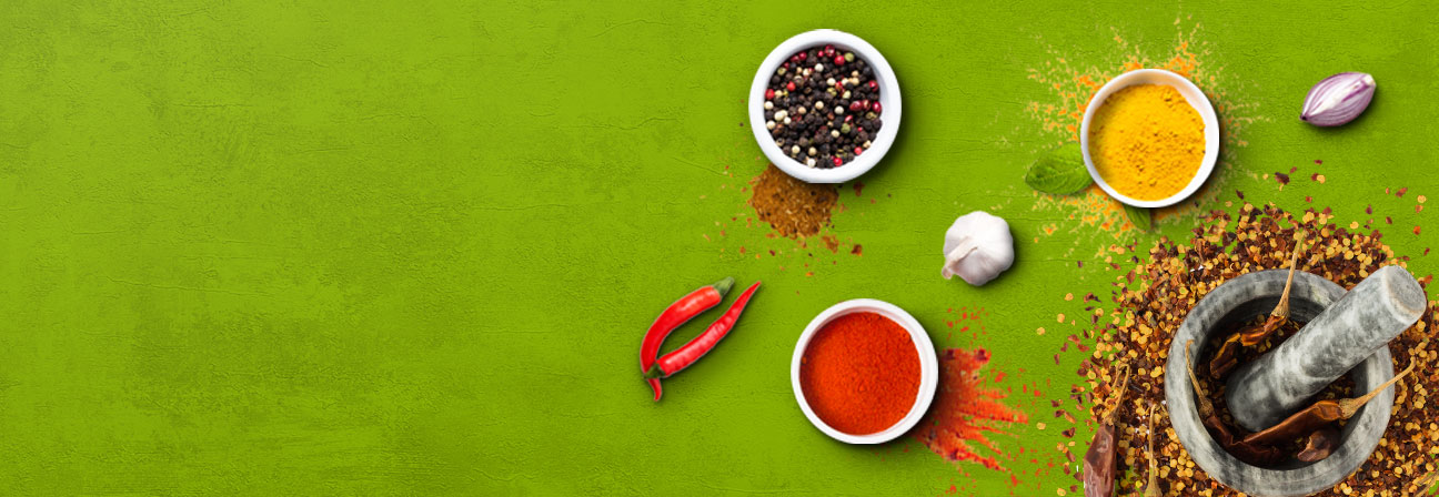 <h3>Pure spices<span>for the ultimate taste experience<span></h3>